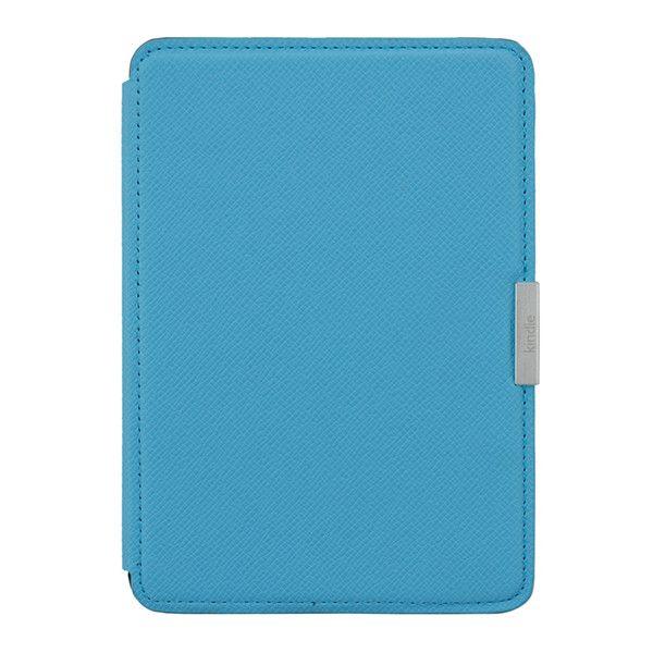 Обложка для Amazon Kindle Paperwhite Голубая (Replica Магнитная застежка)