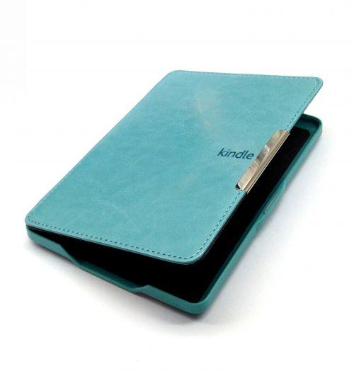 Обложка для Amazon Kindle Paperwhite (с магнитной застежкой)  Бирюзовая