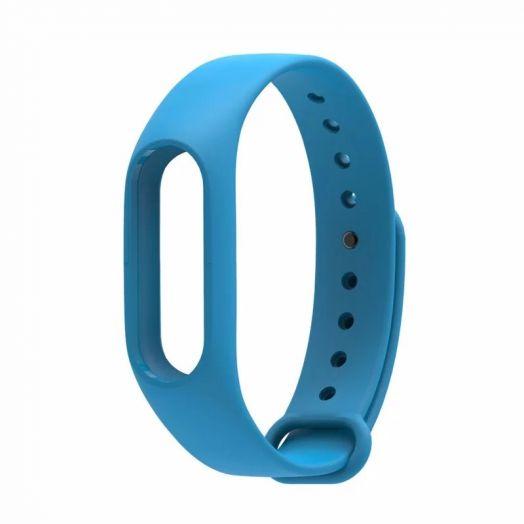 Сменный ремешок для фитнес-браслета  Xiaomi Mi Band 2 (Светло -Голубой)