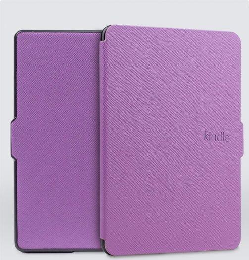 Чехол-обложка Texture для Amazon Kindle 8 (Фиолетовый)