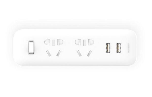 Разветвитель MiJia Power Strip (2 розетки + 2 USB) White MJEWZHQ-01QM